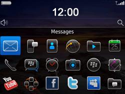 BlackBerry 9780 Bold - Paramètres - Reçus par SMS - Étape 9
