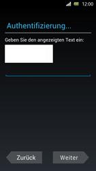 Sony Xperia U - Apps - Einrichten des App Stores - Schritt 12