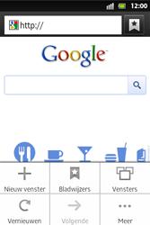Sony ST27i Xperia Go - Internet - hoe te internetten - Stap 5