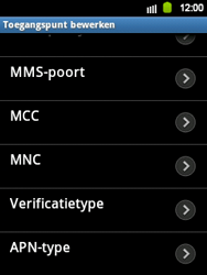 Samsung S5360 Galaxy Y - Internet - Handmatig instellen - Stap 9
