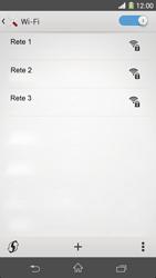 Sony Xperia Z1 - WiFi - Configurazione WiFi - Fase 6