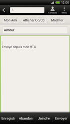 HTC S720e One X - E-mail - envoyer un e-mail - Étape 7