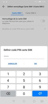 Huawei P30 - Prise en main - Comment activer un code SIM - Étape 10