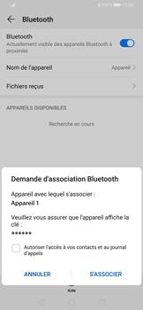 Huawei P Smart Z - Internet et connexion - Connexion avec un équipement multimédia via Bluetooth - Étape 8