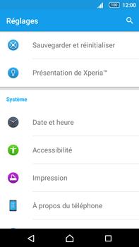 Sony Xperia Z5 Premium (E6853) - Appareil - Réinitialisation de la configuration d