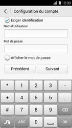 Huawei Ascend Y550 - E-mail - Configuration manuelle - Étape 16