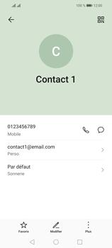 Huawei P Smart 2021 - Contact, Appels, SMS/MMS - Ajouter un contact - Étape 11