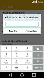 LG H320 Leon 3G - SMS - configuration manuelle - Étape 8