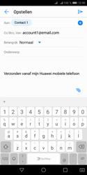 Huawei Y5 (2018) - E-mail - e-mail versturen - Stap 6