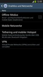 Samsung Galaxy S 4 LTE - Internet und Datenroaming - Prüfen, ob Datenkonnektivität aktiviert ist - Schritt 5