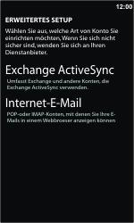 Nokia Lumia 610 - E-Mail - Konto einrichten - 1 / 1