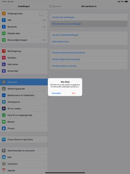 Apple ipad-pro-12-9-inch-2018-model-a1895 - Resetten - Fabrieksinstellingen terugzetten - Stap 6