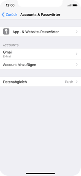 Apple iPhone X - Kontakte - Sicherheitskopie des Geräts mit OS-Konto erstellen - 7 / 11