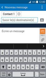 Samsung Galaxy Trend 2 Lite - Contact, Appels, SMS/MMS - Envoyer un MMS - Étape 9