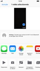 Apple iPhone 7 iOS 11 - Photos, vidéos, musique - Créer une vidéo - Étape 11