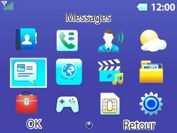 Bouygues Telecom Bc 311 - Contact, Appels, SMS/MMS - Envoyer un MMS - Étape 3