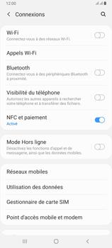 Samsung Galaxy A80 - Internet et connexion - Partager votre connexion en Wi-Fi - Étape 5