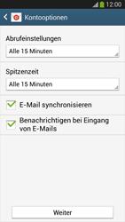 Samsung SM-G3815 Galaxy Express 2 - E-Mail - Manuelle Konfiguration - Schritt 17