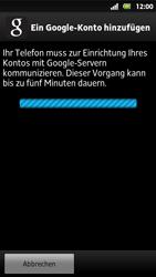 Sony Xperia Sola - Apps - Konto anlegen und einrichten - 9 / 19