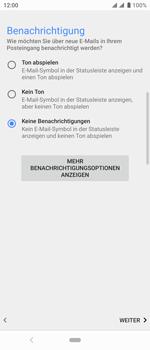 Sony Xperia 10 - E-Mail - Konto einrichten - Schritt 20