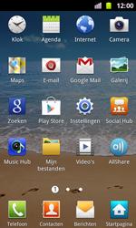 Samsung I8160 Galaxy Ace II - apps - account instellen - stap 3
