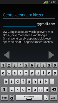 Samsung N9005 Galaxy Note III LTE - Applicaties - Account aanmaken - Stap 8