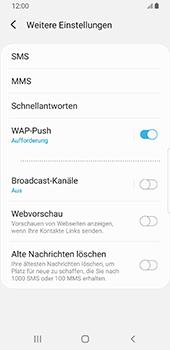 Samsung Galaxy S9 - SMS - Manuelle Konfiguration - 7 / 11
