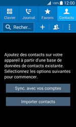 Samsung Galaxy Trend 2 Lite - Contact, Appels, SMS/MMS - Ajouter un contact - Étape 4