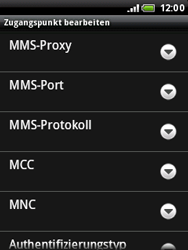 HTC A3333 Wildfire - MMS - Manuelle Konfiguration - Schritt 11