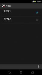Sony Xperia V - Internet und Datenroaming - Manuelle Konfiguration - Schritt 16