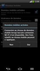 LG D955 G Flex - Internet et roaming de données - Comment vérifier que la connexion des données est activée - Étape 7