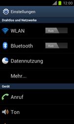 Samsung Galaxy S II - WiFi - WiFi-Konfiguration - Schritt 4