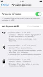 Apple iPhone 7 iOS 11 - Internet et connexion - Utiliser le mode modem par USB - Étape 8