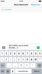 Apple iPhone 6 iOS 10 - MMS - Erstellen und senden - Schritt 10