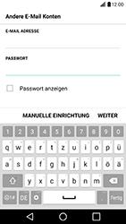 LG G5 SE (H840) - Android Nougat - E-Mail - Konto einrichten - Schritt 8