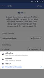 Samsung Galaxy S7 - Datenschutz und Sicherheit - Datenschutzeinstellungen von Facebook ändern - 14 / 35