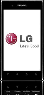 LG P940 PRADA phone by LG