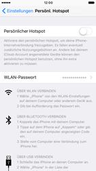 Apple iPhone 7 - Internet - Mobilen WLAN-Hotspot einrichten - 2 / 2