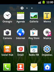 Samsung Galaxy Pocket - Internet e roaming dati - Uso di Internet - Fase 3