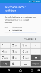 Sony Xperia M5 - Applicaties - Account aanmaken - Stap 8