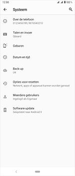 Sony Xperia 1 - Beveiliging en privacy - maak een backup met je account - Stap 6