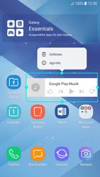 Samsung Galaxy A5 (2017) - Android Nougat - Startanleitung - Installieren von Widgets und Apps auf der Startseite - Schritt 10