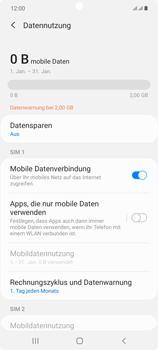 Samsung Galaxy Note 20 5G - Internet und Datenroaming - Manuelle Konfiguration - Schritt 6