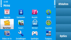 Nokia N97 - E-mail - e-mail versturen - Stap 2