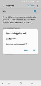 Samsung galaxy-a8-2018-sm-a530f-android-oreo - Bluetooth - Headset, carkit verbinding - Stap 8