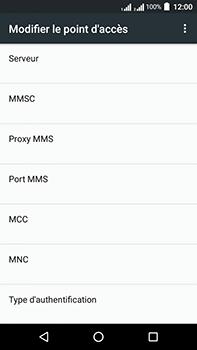 Acer Liquid Zest 4G Plus Double SIM - MMS - Configuration manuelle - Étape 13