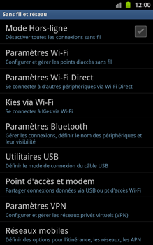 Samsung N7000 Galaxy Note - Bluetooth - connexion Bluetooth - Étape 7