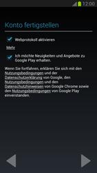 Samsung Galaxy Note 2 - Apps - Konto anlegen und einrichten - 10 / 15