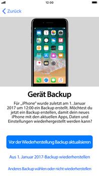 Apple iPhone 6 Plus - iOS 11 - Persönliche Einstellungen von einem alten iPhone übertragen - 17 / 31