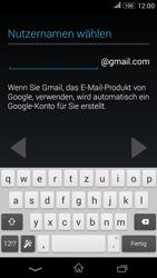 Sony Xperia E4G - Apps - Konto anlegen und einrichten - 8 / 18